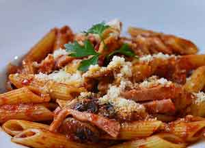 Penne milanesse